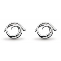 KIT HEATH TWINE HELIX STUD EARRINGS
