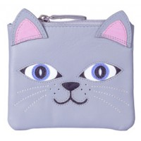 MALA LEATHER LOLA THE CAT COIN PURSE