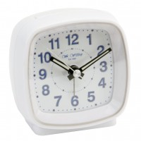 ALARM CLOCK WHITE LIGHT SNOOZE BUTTON WITH SWEEP FUNCTION NEW BOXED