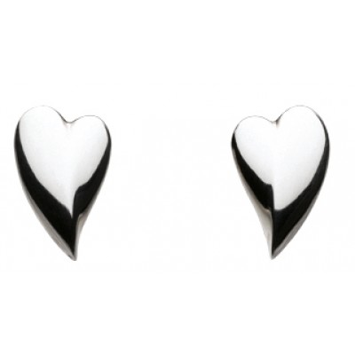 KIT HEATH HEART STUD EARRINGS PRESENTATION BOXED