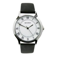 SEKONDA GENTS LEATHER STRAP WATCH 3022 RRP £39.99 NOW £19.99