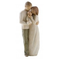 WILLOW TREE OUR GIFT FAMILY FIGURINE BOXED RRP £44.00