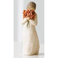 WILLOW TREE SURROUNDED BY LOVE FIGURINE BOXED RRP £21.00