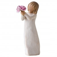 WILLOW TREE THANK YOU FIGURINE RRP £21 NOW £18.90